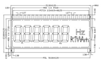 11款多功能电力仪表LCD模块介绍 哪款最适用