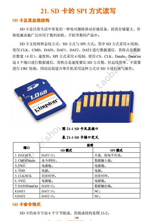 51单片机读写SD卡程序实例下载.pdf