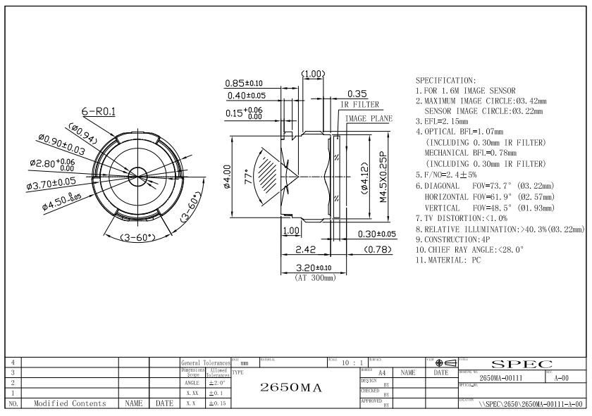 苹果5代镜头结构图资料下载.pdf
