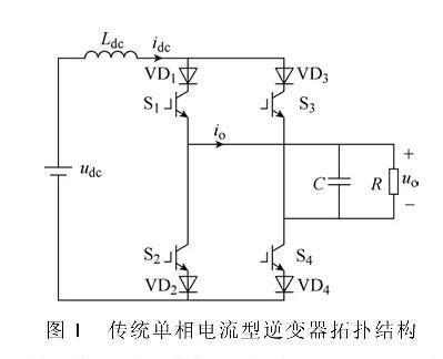 单相电流源型逆变器储能电感电流控制