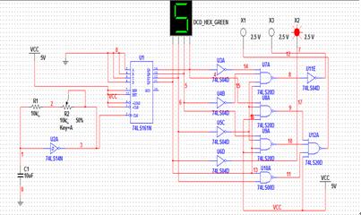 数电课程设计资料(含交通灯,,抢答器电路等)下载