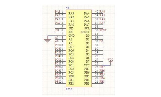 8255芯片中文资料汇总(8255引脚图及功能_工作原理及应用电路)