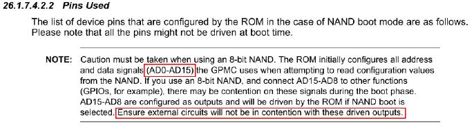 AM335x NAND闪存启动失败问题Debug的解决方案详细概述
