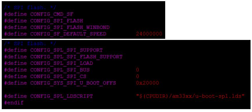 AM335x SPI闪存引导的配置详细中文概述