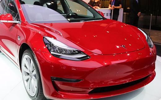 特斯拉Model3亮相2018北京车展 亚洲首秀后开始全国巡展