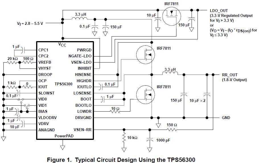 如何使用TPS56300DSP来设计电源应用系统详细概述