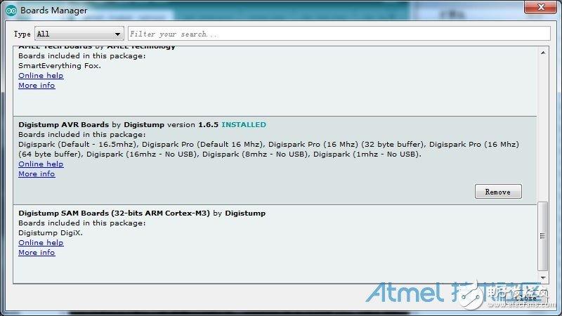 Arduino支持DigisparkArduino的技巧