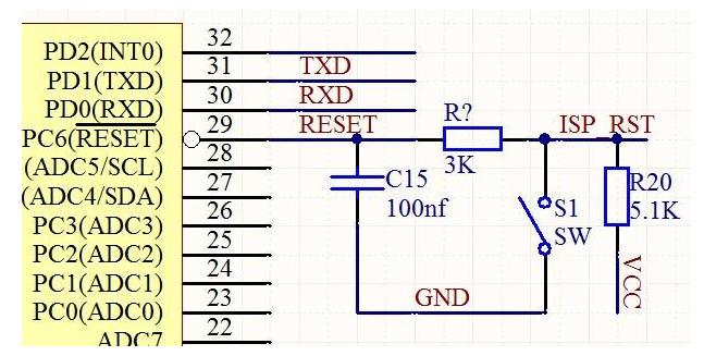 AVR单片机复位检测 如何识别复位条件