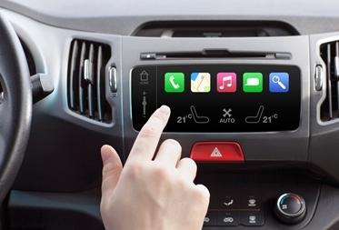 用于信息娱乐或群集显示器的汽车LCD/显示器偏压...