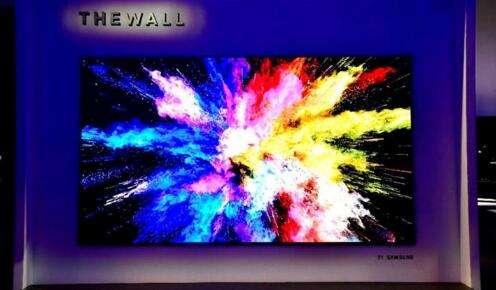 电视厂商花招百出 micro-LED电视火热