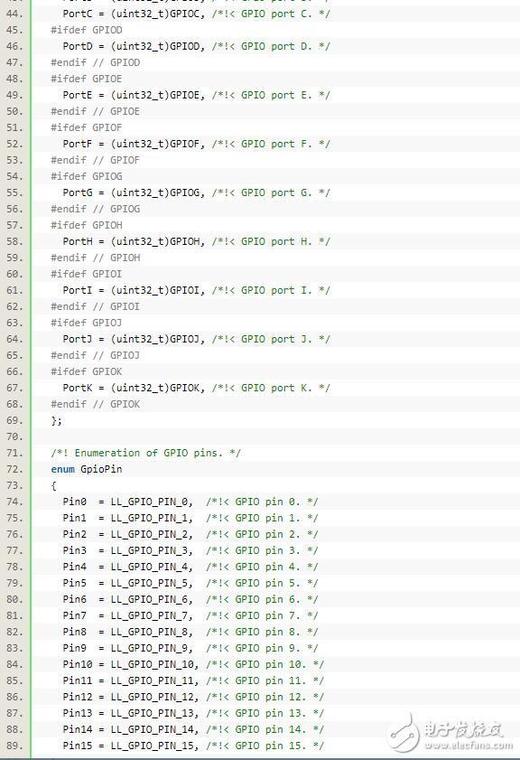 基于STM32F4的 C++封装