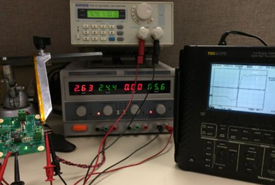 LMG5200开关节点的100 GHz观察仪器系统