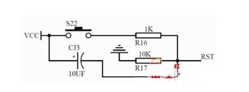 单片机内部复位电路图和上电复位电路图解析(六款单...