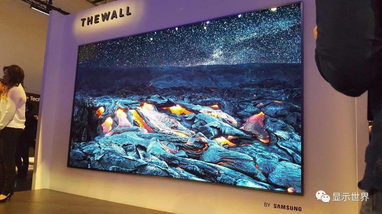 三星推出了146寸的Micro LED电视 预计...