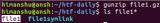 Linux gunzip命令解析  gunzip解压文件的方法