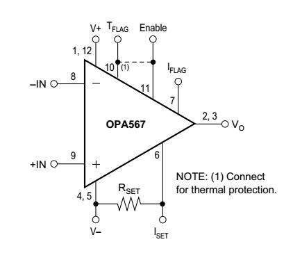 OPA567功率放大器手册