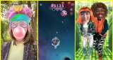 Snapchat想让用户把玩它的增强现实滤镜推出...