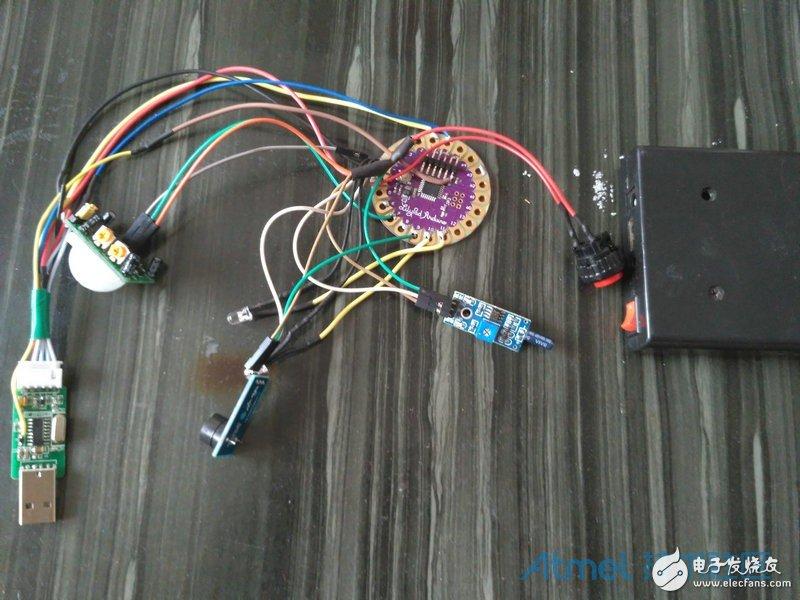 DIY 家庭防盗报警装置设计制作(图文/代码)
