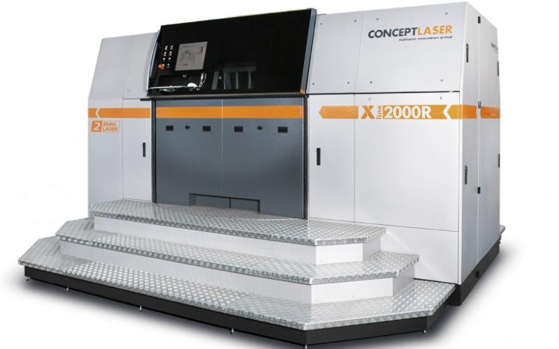 Concept Laser推出最新巨型金属3D打...