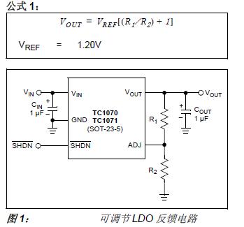 使用Microchip的微功率LDO的详细概述和应用概述