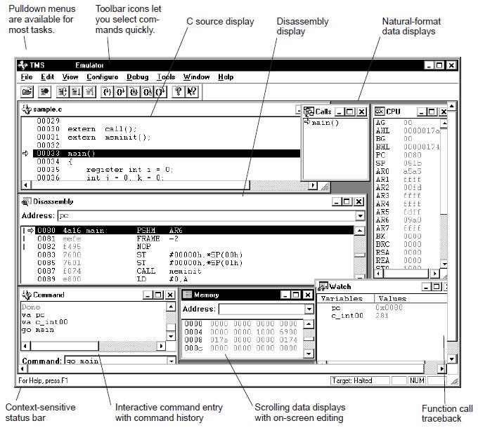 TMS320C54xC源调试详细资料概述