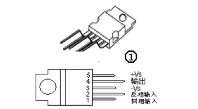 tda2030中文资料汇总(tda2030引脚图及功能_内部电路及应用电路)