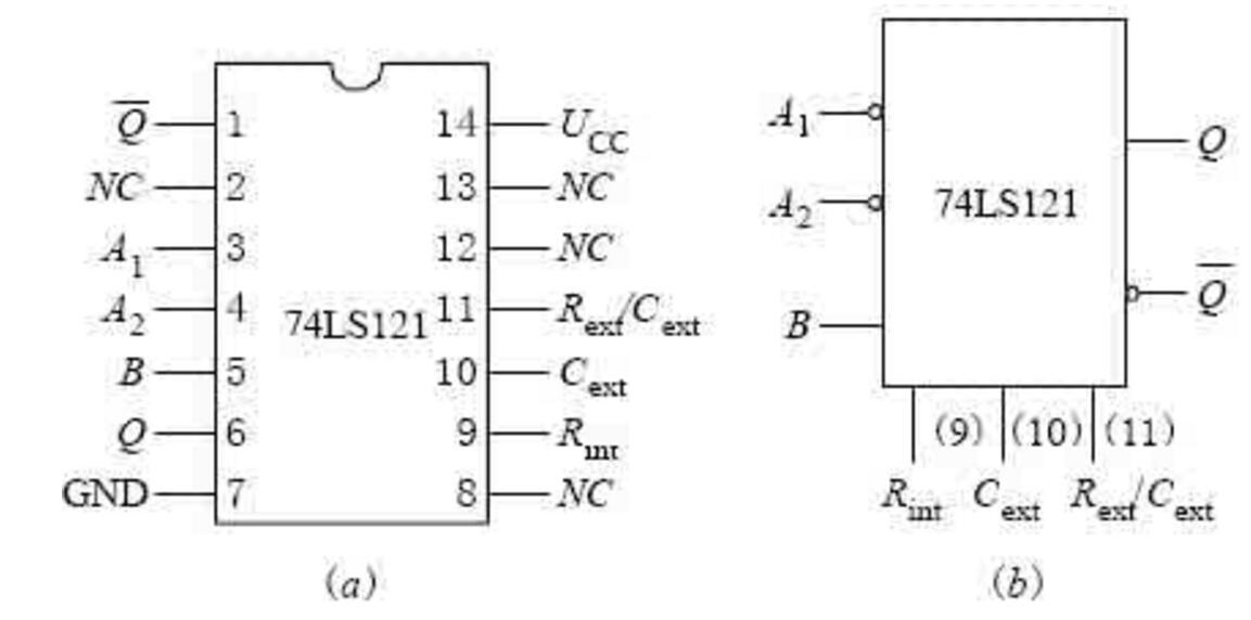 74ls121中文资料汇总(74ls121引脚图_功能表及应用电路)