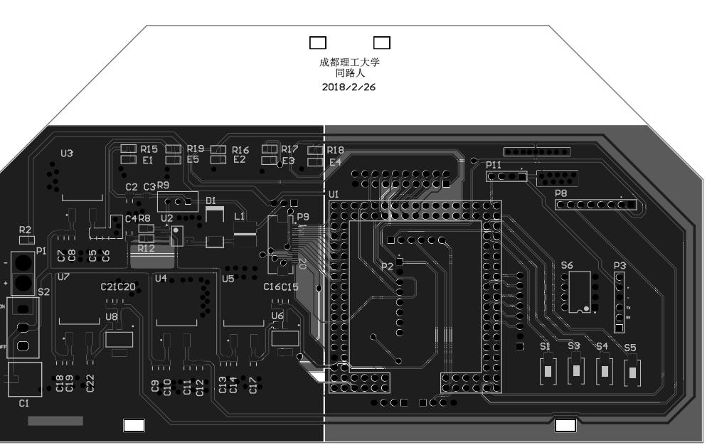 飞思卡尔主控板PCB原理图