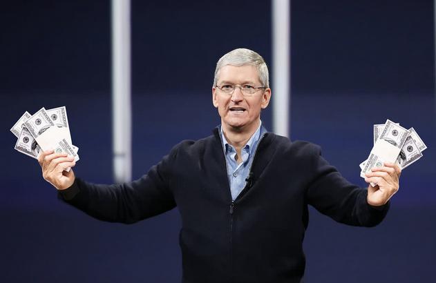 苹果发红包iPhone降价 苹果股价上涨带领科技...
