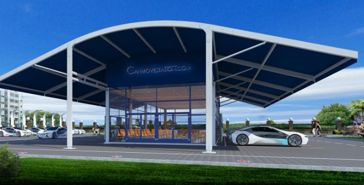 雄安市民服务中心充电站投入使用,新能源电网时代来...