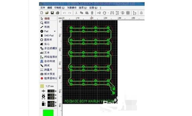 简单DIY印制电路板设计制作过程
