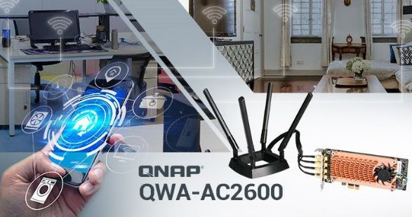 QNAP推出QWA-AC2600无线网卡
