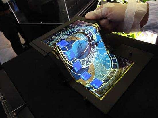 Peratech推出一款有源矩阵3D力度触摸传感器 用于创建柔性的显示器