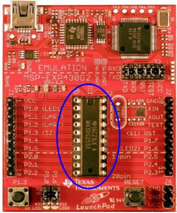 MSP430_LaunchPad学习G2必备