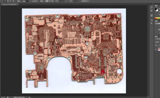pcb抄板如何处理扫描图片_pcb抄板处理扫描图...