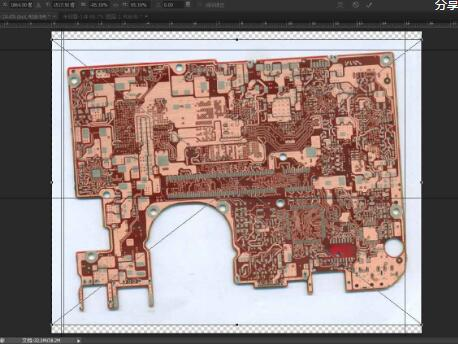 pcb抄板如何处理扫描图片_pcb抄板处理扫描图片的步骤教程详解