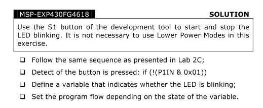 MSP430教程Chapt6-通用输入输出