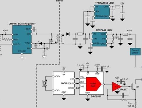 设计一个电源隔离式4线制传感器发射器