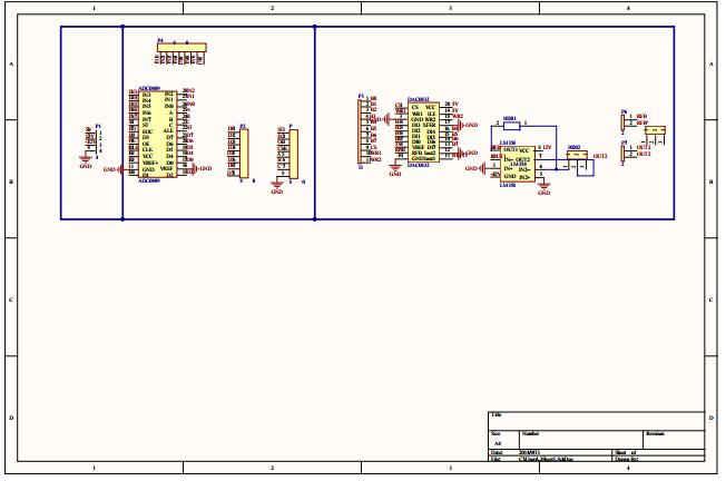 ADDA模块PCB原理图下载