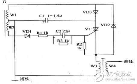 简单电子点火器电路图大全(NE555\磁电机\晶体管\电源)