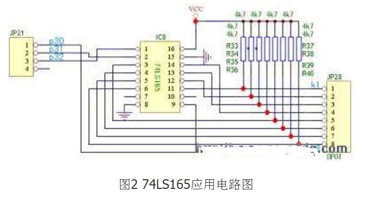 74ls165应用电路图大全(三款74ls165应用电路)