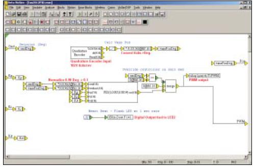 视觉语言如何用来通过简单地绘制算法的框图来快速地创建嵌入式系统