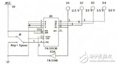 74ls163实现任意进制计数器