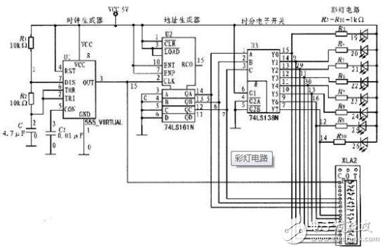 74ls161分频电路图大全(脉冲分频电路\同步加法计数器)