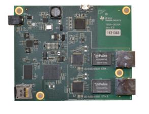 符合EMI/EMC标准的工业温度级双端口千兆位以太网参考设计
