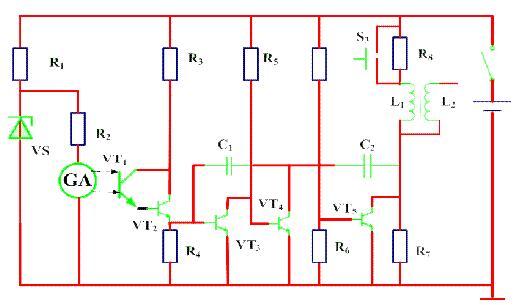汽车电子 车身电子控制系统       (2)电子点火装置      电路图:光
