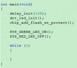 STM32F407V芯片断电的时候FLASH被异常改写的解决方案