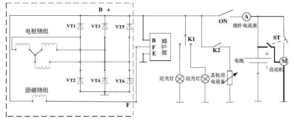 小型发电机电路图大全(六款外搭铁启动/单相发电机/并网控制电路)