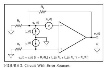 TI中FET互阻放大器的噪声分析