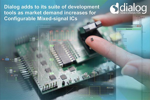 Dialog拓展可配置混合信号IC领先地位,出货量超35亿套器件